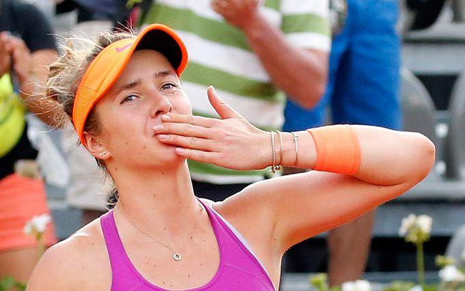Украинка Свитолина вышла в финал супертурнира в Риме
