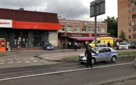 В Москве неизвестный захватил в заложники покупателей магазина: есть пострадавшие