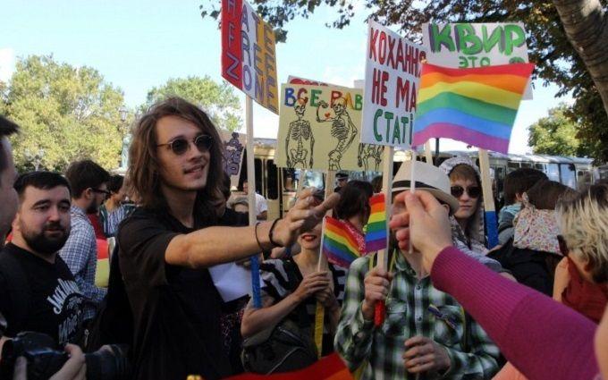 Гей-парад в Одесі не обійшовся без інцидентів: з'явилися фото та відео