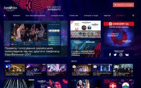 На наполнение сайта Евровидения потратят около 100 тыс. грн