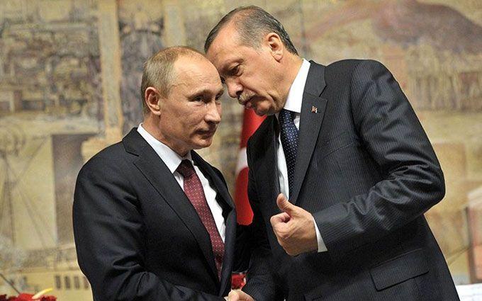 Путін і Ердоган полюбили один одного: німці зняли жорстке гумористичне відео