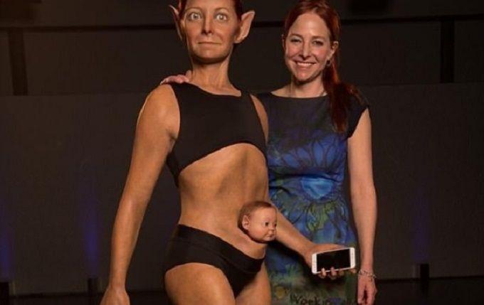 """В сети опубликовали фото """"идеальной"""" женщины будущего"""
