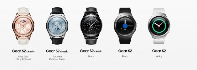"""Samsung представила новые варианты """"умных"""" часов Gear S2 Classic (5 фото)"""