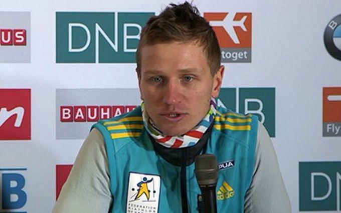 Украинский биатлонист добыл медаль на чемпионате мира: опубликовано видео