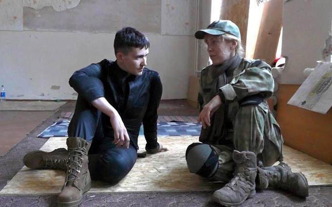 Савченко розповіла, що треба робити з бойовиками після війни: опубліковано відео