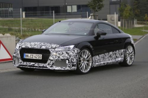 Audi TT-RS Coupe проходить тести у власному кузові (18 фото) (1)