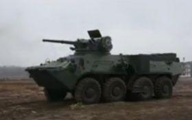 Українцям показали потужне відео нової бойової техніки