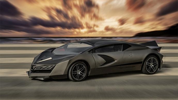 В Катаре сделали 525-сильный суперкар (4 фото)
