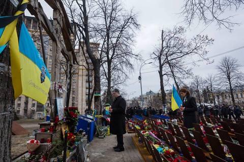 В Киеве чествуют героев Небесной Сотни (1)