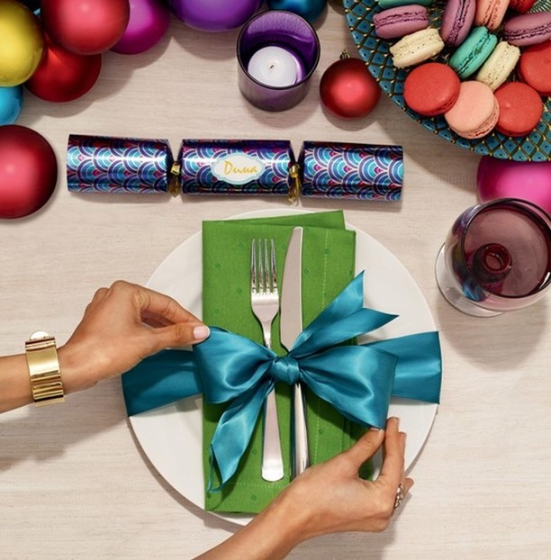 Скоро Новый год: как красиво сервировать праздничный стол (3)