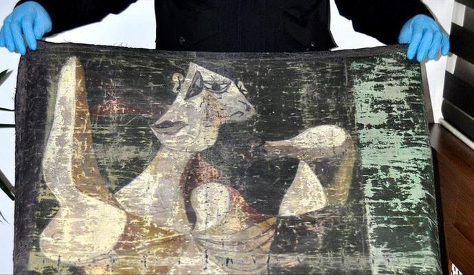 Краденую картину Пикассо пытались продать в Стамбуле