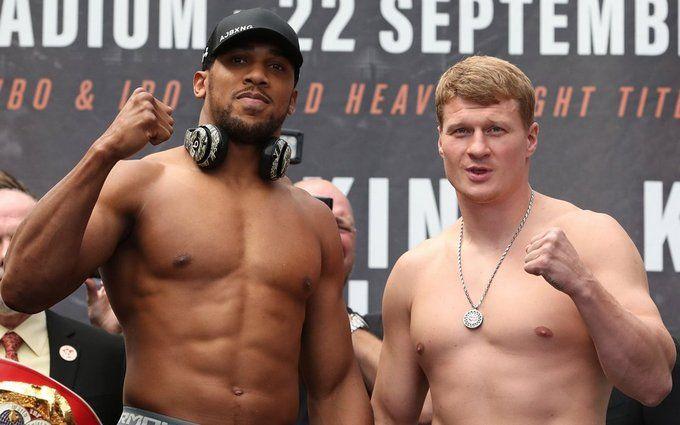 Джошуа - Повєткін: де дивитися онлайн-трансляцію чемпіонського бою