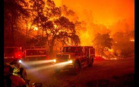 Лісові пожежі в Каліфорнії: загинуло 23 людини