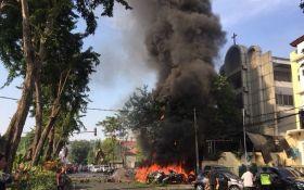 В церквях Индонезии произошла серия терактов, много раненых и погибших: появились жуткие фото и видео