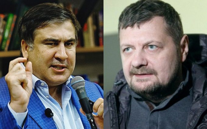 Нардеп с костылем напал на Саакашвили: появилось курьезное видео
