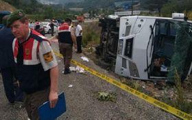 У Туреччині перекинувся туристичний автобус, серед постраждалих є українці