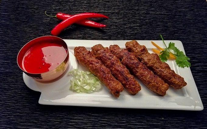 Сочный люля-кебаб из свинины в духовке или маленькие хитрости от шеф-повара