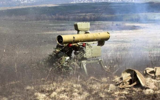 Украинские военные уничтожили еще одну позицию боевиков: опубликовано видео мощного удара