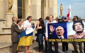 Париже перед приездом Путина устроили демонстрацию: появились фото