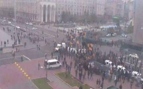 Драки с полицией в центре Киева: появились новые подробности