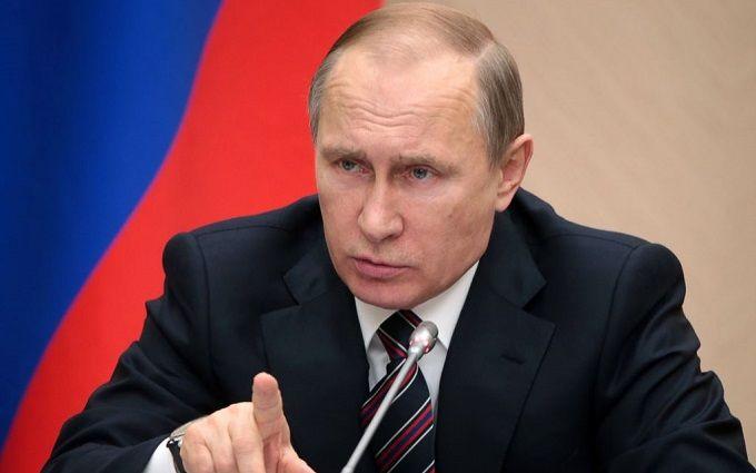 З'явилося відео гучного випаду Путіна на адресу України