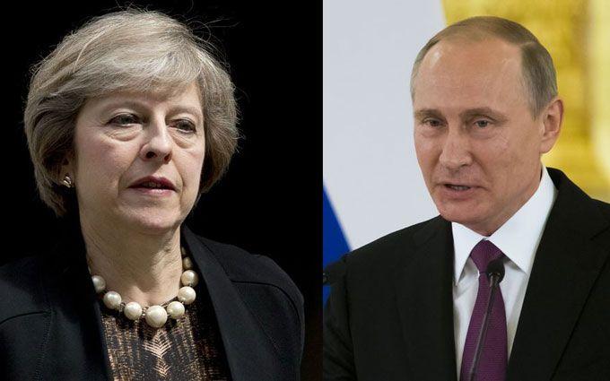 Зустріч Путіна і Мей: з'явилися подробиці