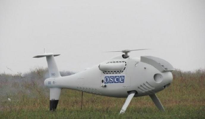 Террористы ЛНР обстреляли беспилотник миссии ОБСЕ