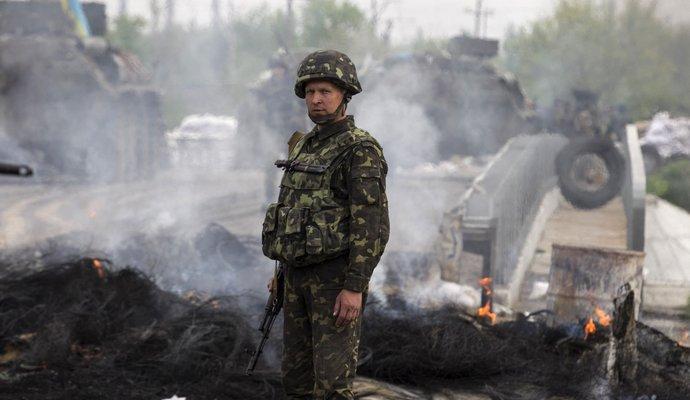 Столкновение под Мариуполем: погибли украинские военные