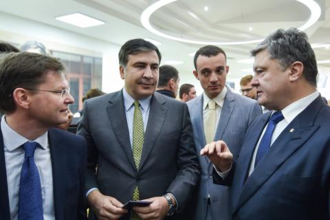 Робоча поїздка президента почалася з відкриття Центру обслуговування громадян Одеської міської ради (8 фото) (1)