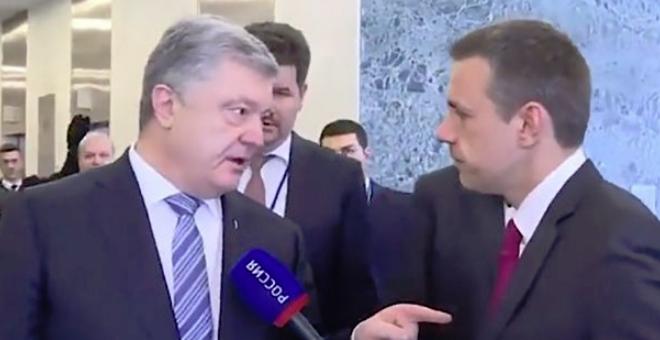 """""""Вы - убийцы украинцев!"""": Порошенко жестко ответил кремлевском пропагандисту (1)"""