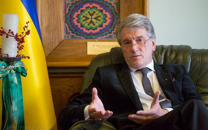 Соседи пожаловались на Ющенко: его козлы и бараны объедают сады