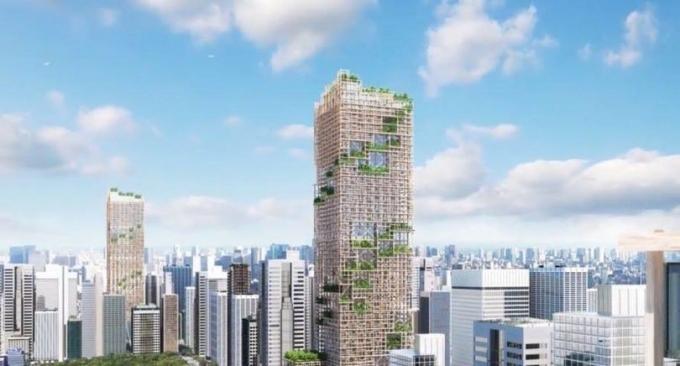 У Токіо побудують найвищий дерев'яний хмарочос: з'явилися фото (1)