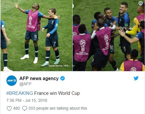 Франція стала Чемпіоном світу з футболу (3)