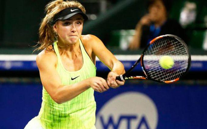 Українська тенісистка виграла матч-трилер у американки на супертурнірі в Китаї
