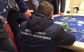 В двух областях Украины накрыли тайные казино: опубликованы фото
