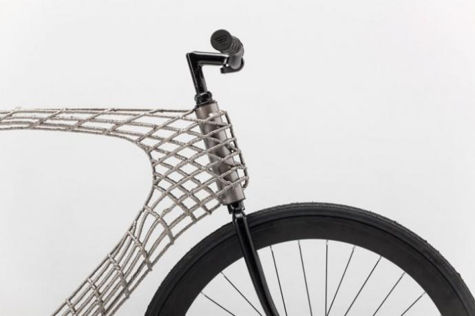 Студенты из Нидерландов создали велосипед с помощью 3D-печати (фото) (3)