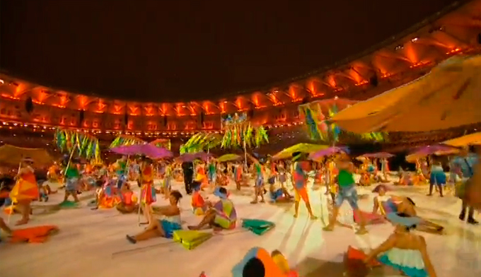 Церемония открытия Паралимпиады-2016: фото и видео из Рио (68)