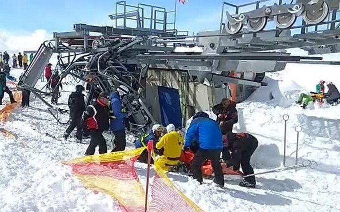 """""""Другий день народження"""": українець показав нові жахливі відео аварії на курорті в Грузії"""