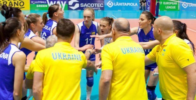 Победитель Евролиги: Женская сборная Украины поволейболу