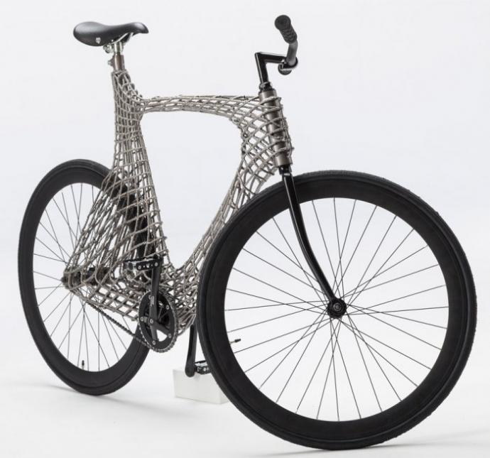 Студенты из Нидерландов создали велосипед с помощью 3D-печати (фото) (1)