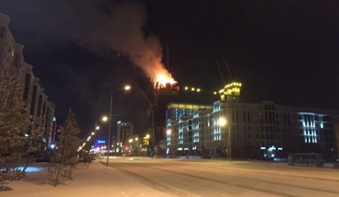 Взрыв в Астане: о жертвах и пострадавших не сообщают
