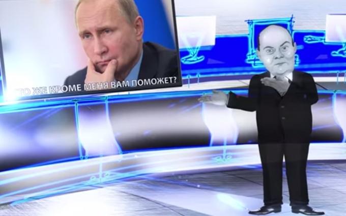 Популярний карикатурист жорстко висміяв головного пропагандиста Путіна