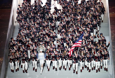 Церемония открытия Олимпиады-2014 (15 фото) (3)