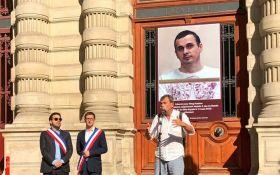 Мы боимся за его жизнь: в Париже на здании мэрии поместили фото Сенцова