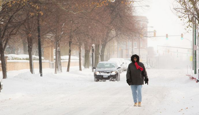 На следующей неделе морозы в Киеве усугубятся