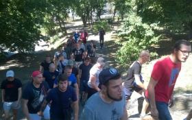 """Азов"" сорвал мероприятие коммуниста Симоненко: опубликованы фото"