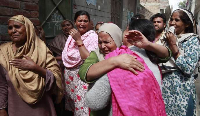В Пакистане из-за террориста погибли мирные жители