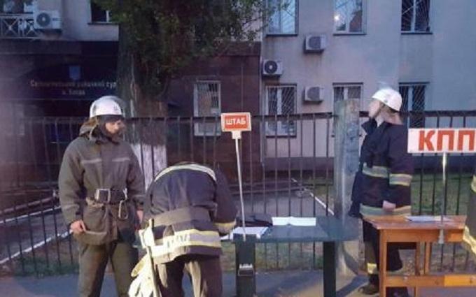 У Солом'янському райсуді Києва сталася пожежа: опубліковані фото