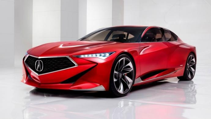 Acura представила 5,2-метровий хетчбек Precision (4 фото)