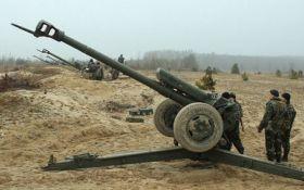 Бойовики вели обстріли на Луганщині із заборонених артилерійських систем - штаб АТО